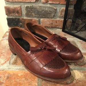 Allen Edmonds Cody Brown Tassel Loafers Shoes 13M